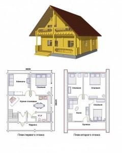 Проект дома 16