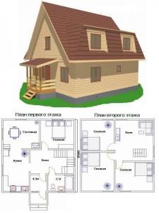 Проект дома 18