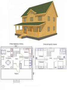 Проект дома 21