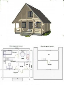 Проект дома 23