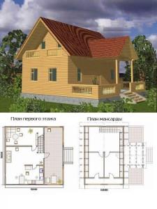 Проект дома 25