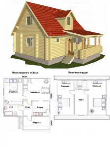 Проект дома 28
