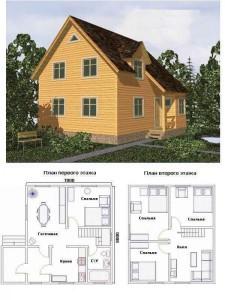 Проект дома 30