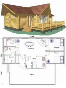 Проект дома 31