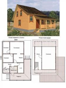 Проект дома 33