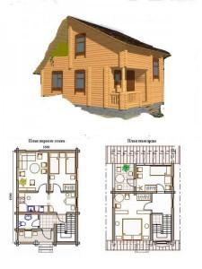 Проект дома 34