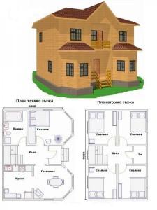 Проект дома 35