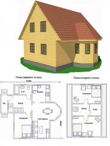Проект дома 36