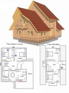 Проект дома 4
