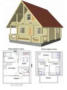 Проект дома 40