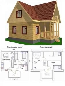 Проект дома 43