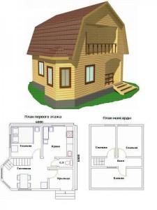 Проект дома 45
